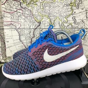 NIKE WOMENS ROSHE ONE FLYKNIT CASUAL